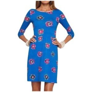 Lilly Pulitzer • Evelyn floral dress rolls royce